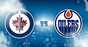 Oilers Vs. Jets Rogers Place DEC 11- BELOW FACE VALUE NEED GONE!