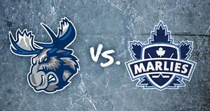 Toronto Marlies Tickets (Oct.22/16) 5:00pm