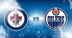 Edmonton Oilers vs Winnipeg Jets December 11 sec 207 $95 obo