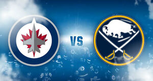 2 Jets tickets, section 320 vs Buffalo Sabres