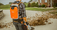 Fall leaf Cleaning - Nettoyage d'automne