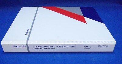 Tektronix Tds 420a 430a 460a 510a User Manual
