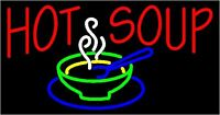 BACK BY POPULAR DEMAND - SOUP'S ON !
