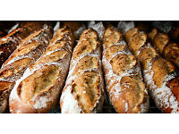 Packer/Driver for an artisan wholesale bakery in Uxbridge