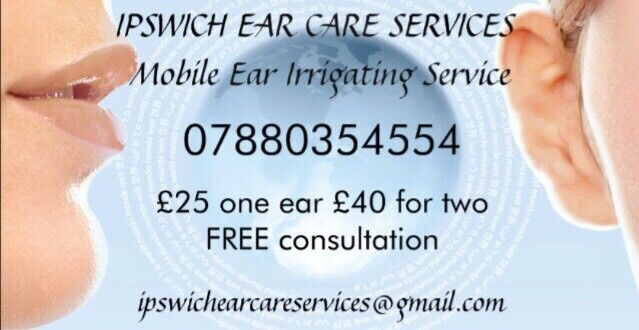 Private Ear Syringing >> Ipswich Ear Care Services Ear Wax Removal In Ipswich
