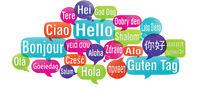 German, Spanish, and English classes