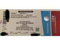 Beyoncé and Jay Z OTR tickets 2018