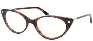 Tom-Ford-TF5189-FT5189-055-Havane-Plastic-Cat-Eye-Style-Eyeglass-Frame-54mm-TO1
