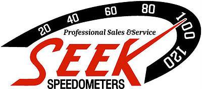 SEEK Speedometers Sales and Service