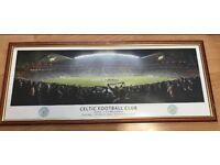 Celtic FC Panoramic Stadium photo frame