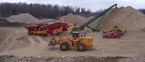 Sand and Gravel  Wholesale Supplier dump truck service