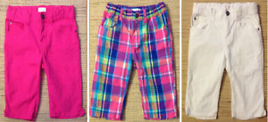 TCP - Girls 10 Patterned and Solid Skimmer Shorts (3)