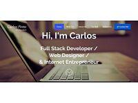 Freelance Creative Web Developer based in London Available - Website