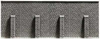 NOCH 58057 Spur H0 66,8x12,5cm Grundpreis 1qm=256,02 Euro lang Stützmauer