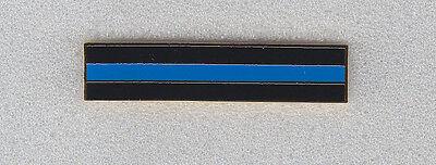 THIN BLUE LINE Gold Mourning/Award/Commendation Uniform Bar police/sheriff
