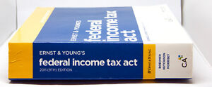 Ernst & Young's Federal Income Tax Act - 2011 (9th) Edition West Island Greater Montréal image 2