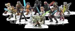 All Disney Infinity Star Wars Characters + 2 Playsets