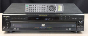5 CD/DVD Carousel Style DVD Player