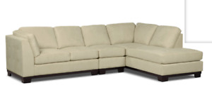 Sofa Sectionnel 3 pièces 'Oakdale' Microsuede