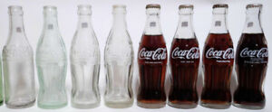 Canadian Coca-Cola bottle set / Bouteilles