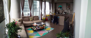 CONDO LIVING - Furnished room with private bathroom!