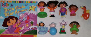 6 sets of Qty 9 Dora Toys & Books London Ontario image 2