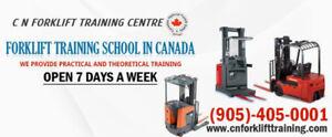Forklift Training in Brampton | Mississauga | Toronto
