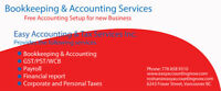 Bookkeeping Services for $ 20 Per hour or Fixed Monthly