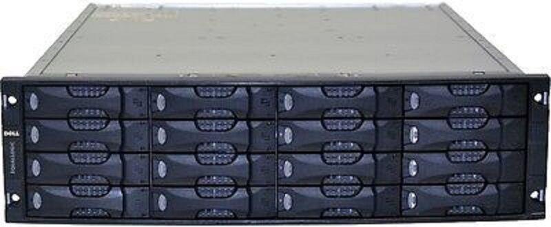 Dell EqualLogic PS5000 ISCSI SAN Storage System PS5000E W/ 16x SATA Trays