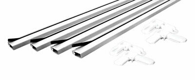 Prime Line Products PL 7812 White Make-To-Fit Screen Kit or