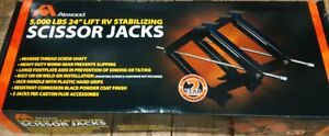 "5000LBS - 24"" LIFT SCISSOR JACKS"
