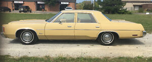 PRICE REDUCED - 1977 Chrysler Newport -  NEED TO SELL