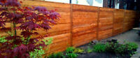 Professional Wood Fence New Installs and Repairs