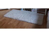 Ivory / cream rug 180 x 120cm £120