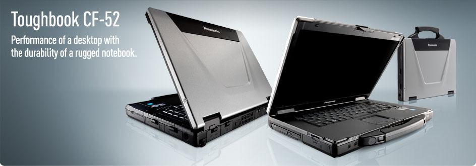 Panasonic Toughbook CF-52 Mk3 i5 2.4Ghz 15.4