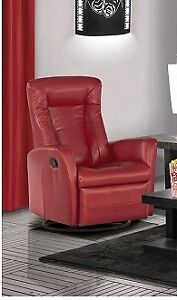 Fauteuil bercant, pivotant et inclinable (Neuf)
