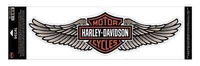 Harley-Davidson Straight Wing Decal Tan 5XL Size Sticker DC339129