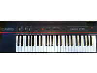 Electronic keyboard Casio CT-102 - four octaves; fully working with mains power supply
