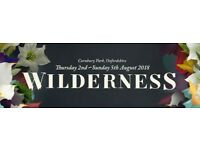 1* Wilderness Ticket
