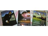 3 Golf DVD's A new dawn 2014, Phil Mickelson, Know your Golf.