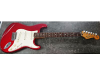 Fender Stratocaster (Mexico) | Candy Apple Red | 2008-09 | With Hard Case