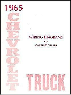 1965 65 Chevrolet Truck Wiring Manual