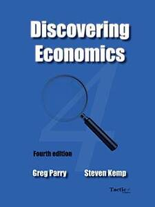 WA ATAR Discovering Economics Units 1 & 2 [Parry & Kemp] 4th Ed Cottesloe Cottesloe Area Preview