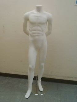 White Male Mannequins (Used)