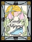 LADYS SLIPPER VINTAGE