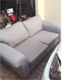 DFS - 2 Two Seater Sofas - 12 Months Old