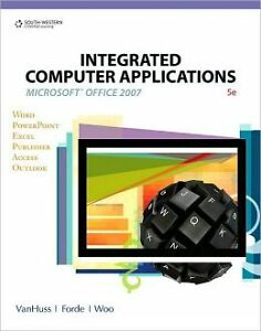 INTEGRATED COMPUTER APPLICATIONS W/DATA CD 5TH EDITION