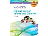 Wong's Nursing Care of Infants and Children - IDEAL FOR NURSING STUDENTS - PRICE INCLUDES POSTAFGE