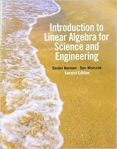 Introduction to Linear Algebra for Science and Engineering