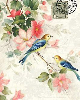 Blue Winged Birds decoupage by Roycycled Treasures!